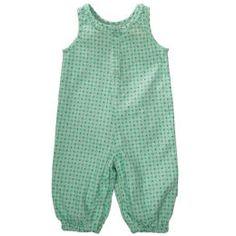 Name It newborn Lisette cord overall (grønn)