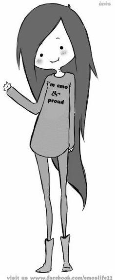 anime scene emo girl