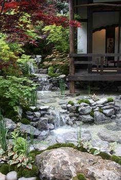 Japanese Garden winning Gold at the RHS Chelsea Flower Show 2013 - An Alcove (Tokonoma) Garden
