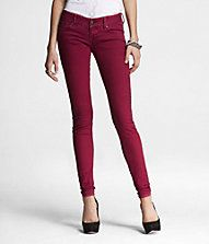 I do love the colored jeans this year but the deep red is probably my fav so far!