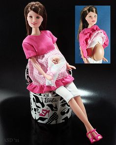 did you know that the makers of barbie made a pregnant teen doll in an attempt to shed light on early teen pregnancy?