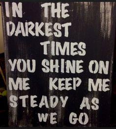 Steady as we go. #dmb #lyrics #genius