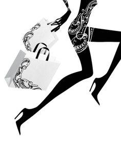Ilustración de modas