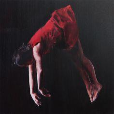 Chloe Early's dreamlike paintings merge weightlessness with despair   The Verge