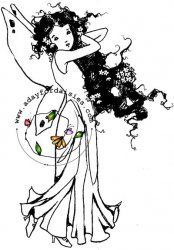 Fancy Hair Fairy - A Day For Daisies - $4.00