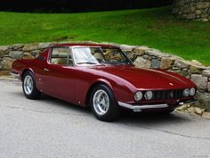 1967 Ferrari 330 GT Maintenance/restoration of old/vintage vehicles: the material for new cogs/casters/gears/pads could be cast polyamide which I (Cast polyamide) can produce. My contact: tatjana.alic@windowslive.com