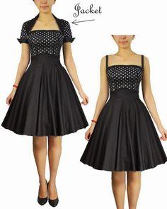 Blueberry Hill Fashions : Rockabilly Dress and bolero jacket set
