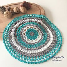 Crochet mandala doily Crochet lace doily Bohemian home image 0 Lace Doilies, Crochet Doilies, Crochet Lace, Handmade Home Decor, Handmade Gifts, Gifts For Family, Gifts For Her, Doilies For Sale, Easter Gift For Adults