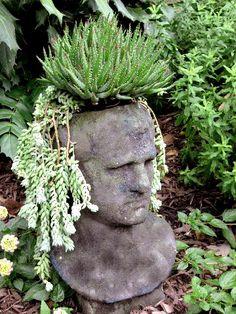 Handsome but Grumpy Male Planter