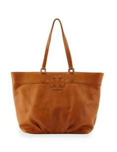 Tory Burch East-West Stacked Logo Tote Bag