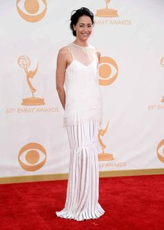Sandrine Holt | Fashion At The 2013 Emmy Awards