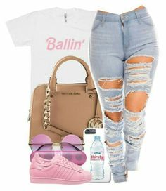 Spoils, new age slang fashionable appearance or manner. Need to ensemble like a swaggy? Cute Swag Outfits, Dope Outfits, Teen Fashion Outfits, Outfits For Teens, Trendy Outfits, Fall Outfits, Summer Outfits, School Outfits, Disney Fashion
