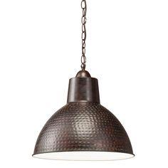 1 Light Pendant (78200) in Bronze | Missoula