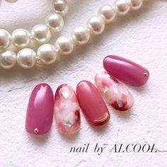 アート2本コース♡#マリン #サマーネイル #くすみピンク#ニュアンス #ワンカラー #ネイル #nail #ジェルネイル #ネイルデザイン #nails #nailart...|ネイルデザインを探すならネイル数No.1のネイルブック