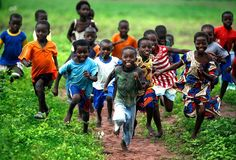 The village children at play