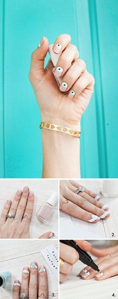 Eye Manicure #nails #nailart #naildesign