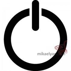 Stickers for Plugs & Switch Buttons>Power on sticker for sale from 3.90 #wall #art #stickers #decal