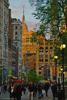 Dreamy afternoon at Union Square, New York City, from NYCdailypics