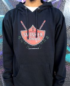 """""""SWISHER SQUAD"""" PULLOVER HOODIE $50.00"""