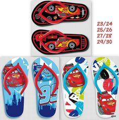 Chinelos de criança CARS Pack de 4 pares