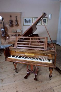 Thomas Broadwood, the most productive piano manufacturer of that time in London, gave Beethoven a piano forte in 1817. Many years later the ...