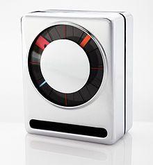 'sandwich alarm clock' designed by richard sapper (1971)