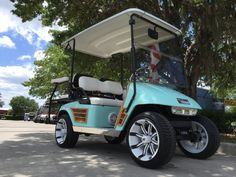 Used Cars Bradenton FL At American Pride Golf Cart Services, our customers can count on quality used cars, great prices, and a knowledgeable sales staff. Ford Think, Golf Cart Seats, Custom Golf Carts, Golf Cart Accessories, Vintage Golf, Mustang Cars, Chevy Impala, Car Ford, Diy Bed