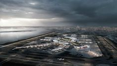 awesome JFK International Airport Renovation Plan 2017 Check more at http://www.arch2o.com/jfk-international-airport-renovation-plan-2017/