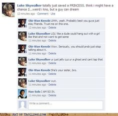 luke would totally use abbrevs like that.  han's comment cracks me up
