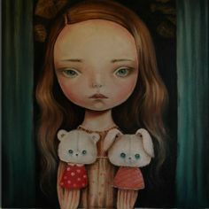 Surreal Portraits by Paulina Gra Mark Ryden, Pop Surrealism, My Ride, Art Dolls, Whimsical, Sculptures, Illustration Art, Surreal Portraits, Gallery