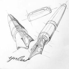 "Instagram의 투시흥신소: ZNLEE LAB님: ""#투시흥신소 *뢰**님의 의뢰: #만년필 #전지적투시시점 #그려줄랩 #perspective #시계도법 #znlee #스케치 #렌더링 #제품디자인 #sketch #투시 #투시공장"" One Perspective Drawing, Perspective Art, Perspective Photography, Anatomy Sketches, Drawing Sketches, Drawing Skills, Drawing Techniques, Object Drawing, Still Life Drawing"
