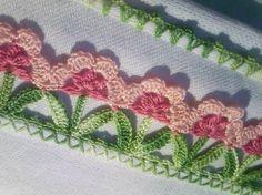 Resultado de imagem para crocheted borders