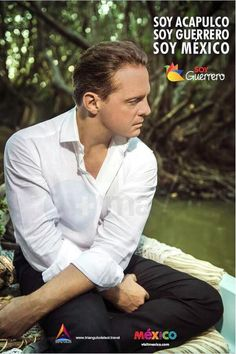 "Luis Miguel tourism advertisement for ""Acapulco"""