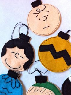 Charlie Brown Christmas Ornaments Tutorial - these are the bomb!