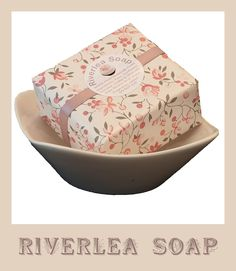 A sneak peak at our new packaging from Riverlea Soap