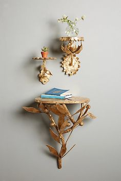 Sunward Shelf #anthropologie  this would also be awesomeeee replacement for front door