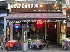 Desperados - Angel - Mexican tapas, relaxed, quite cheap cocktails, evening with friends