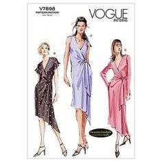 Mccall Pattern V7898 18-20-22 -Vogue Pattern
