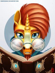 Sunburst - MLP FanArt by WWRedGrave.deviantart.com on @DeviantArt