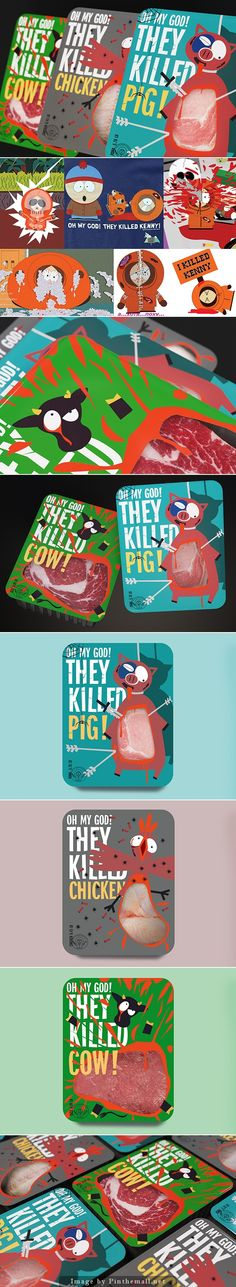 So excited, here's the rest of the funny student #packaging project Butcher Kenny by Vlad Mikhailov curated by Packaging Diva PD created via https://www.behance.net/gallery/21337965/Butcher-Kenny