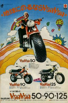 Never realised they made VanVan's up to 125cc..
