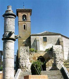 Maqueda en TOLEDO - Rollo e Iglesia.