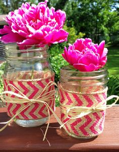 DIY Mason Jar Wrap