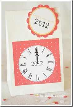 new year's eve countdown bags ...