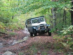 Land Cruiser, troopy in action!