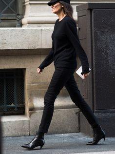 Saint Laurent Emmanuelle Fringed Bucket Bag - Emmanuelle Alt&39s