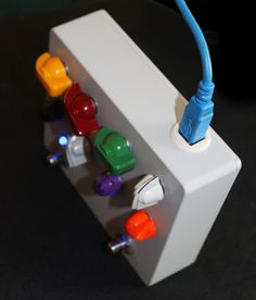 The Amperage Pedal by Kurt Olsen — Kickstarter - really cool midi controller aimed at guitarists