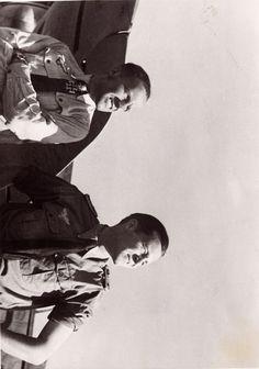 Major Hans-Ulrich Rudel & Stabsarzt Dr.med. Ernst Gadermann