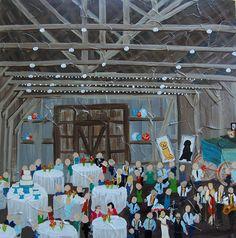 Live Event Painting | Color Me Nola  | Kristy Oustalet | Weddings | New Orleans | Baton Rouge | Destrehan Plantation