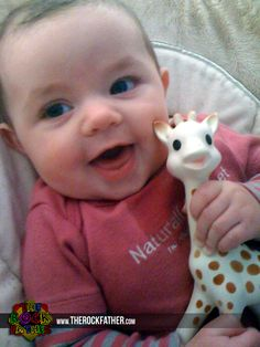 Holiday Gift Guide: Sophie the Giraffe Teether (Rockin' Gifts for Baby and Parents)